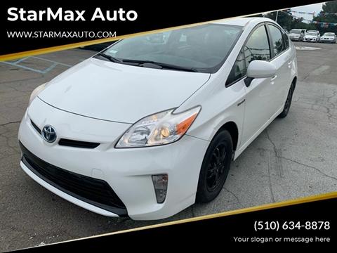 2013 Toyota Prius for sale at StarMax Auto in Fremont CA