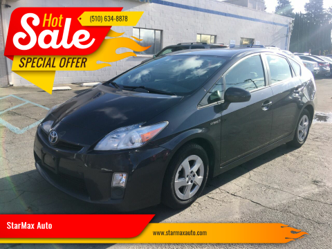 2011 Toyota Prius for sale at StarMax Auto in Fremont CA