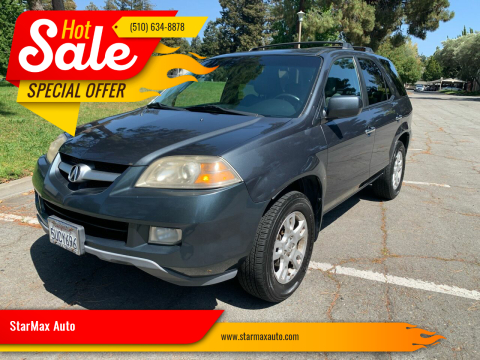 2006 Acura MDX for sale at StarMax Auto in Fremont CA
