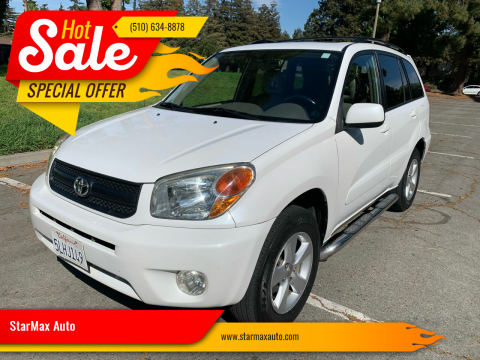 2005 Toyota RAV4 for sale at StarMax Auto in Fremont CA