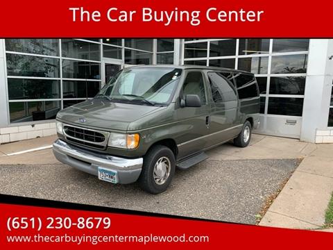2002 Ford E-Series Wagon for sale in Maplewood, MN