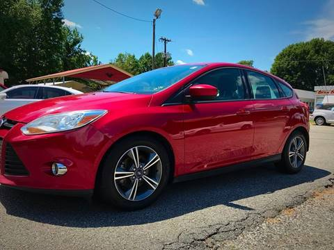 2012 Ford Focus for sale at Cutiva Cars in Gastonia NC