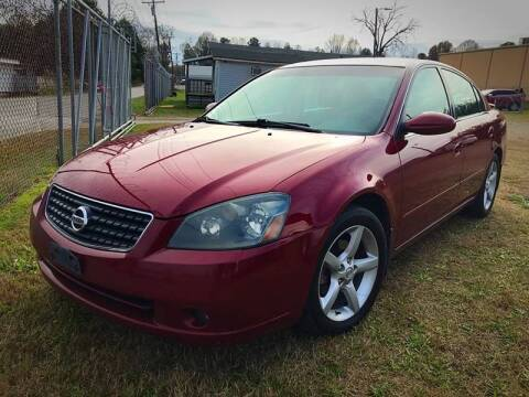 2005 Nissan Altima for sale at Cutiva Cars in Gastonia NC