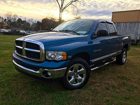 2005 Dodge Ram Pickup 1500 for sale at Cutiva Cars in Gastonia NC
