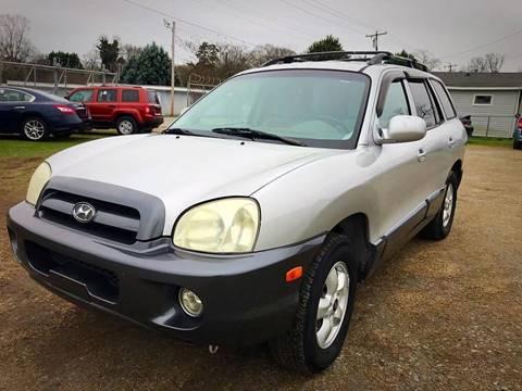 2005 Hyundai Santa Fe for sale at Cutiva Cars in Gastonia NC