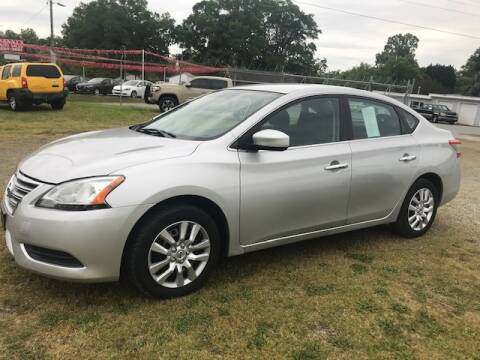 2013 Nissan Sentra for sale at Cutiva Cars in Gastonia NC