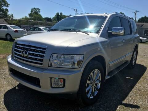 2008 Infiniti QX56 for sale at Cutiva Cars in Gastonia NC