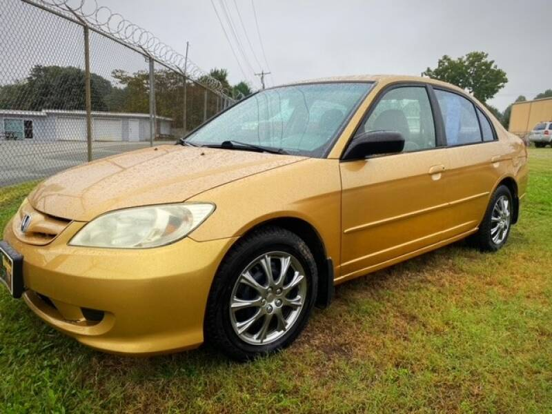 2004 Honda Civic for sale at Cutiva Cars in Gastonia NC