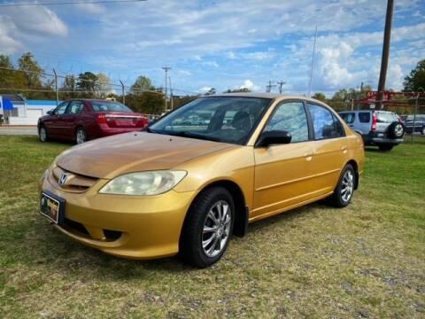 2004 Honda Civic for sale at Cutiva Cars in Gastonia NC