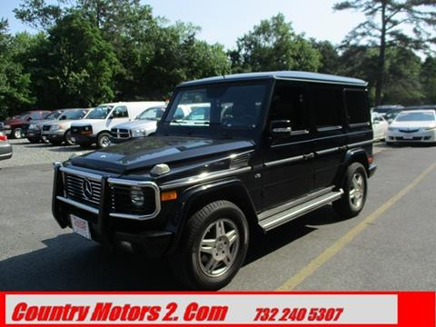 2003 Mercedes-Benz G-Class for sale in Toms River, NJ