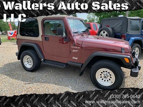 2002 Jeep Wrangler for sale in New Philadelphia, OH