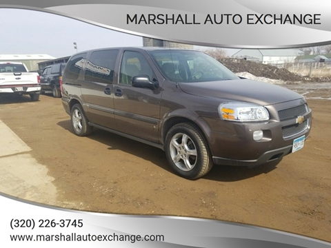 2008 Chevrolet Uplander for sale in Marshall, MN