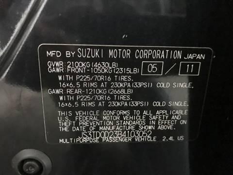 2011 Suzuki Grand Vitara