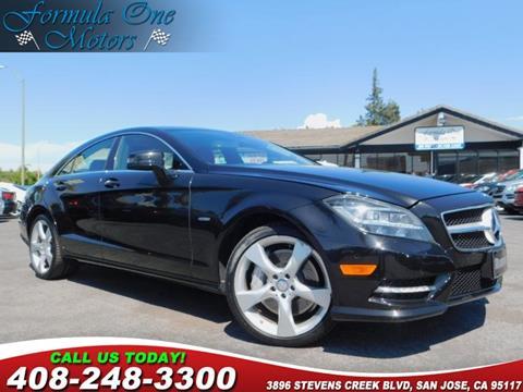Mercedes San Jose >> 2012 Mercedes Benz Cls For Sale In San Jose Ca