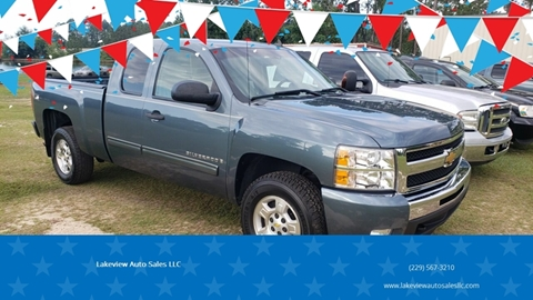 Lakeview Auto Sales >> Chevrolet Silverado 1500 For Sale In Sycamore Ga Lakeview