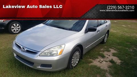 2007 Honda Accord for sale in Sycamore, GA