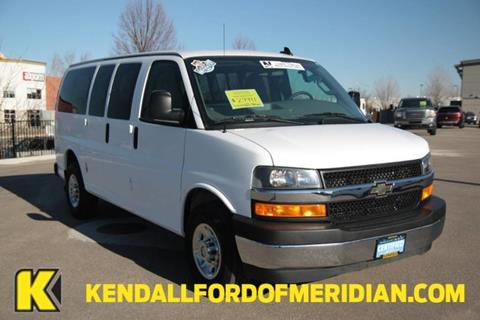 2017 Chevrolet Express Passenger for sale in Meridian, ID