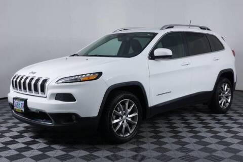 2018 Jeep Cherokee Limited for sale at Kendall Chevrolet GMC Cadillac of Eugene in Eugene OR
