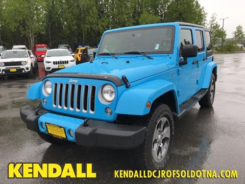 2017 Jeep Wrangler Unlimited for sale in Soldotna, AK