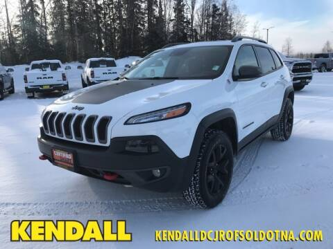 2016 Jeep Cherokee Trailhawk for sale at Kendall DCJR of Soldotna in Soldotna AK