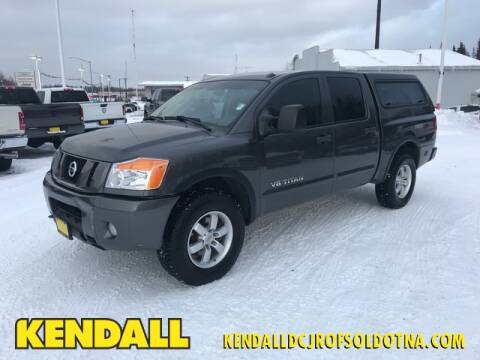 2012 Nissan Titan PRO-4X for sale at Kendall DCJR of Soldotna in Soldotna AK