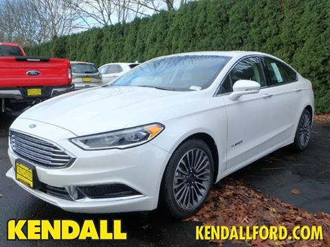 2018 Ford Fusion Hybrid for sale in Eugene, OR