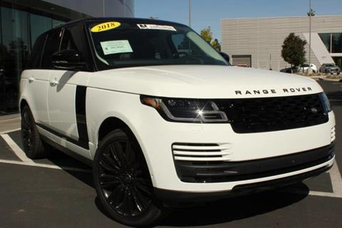 2018 Land Rover Range Rover for sale in Wasilla, AK