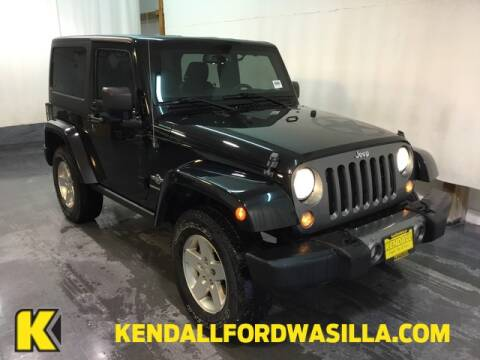 2014 Jeep Wrangler Sport for sale at Kendall Ford of Wasilla in Wasilla AK