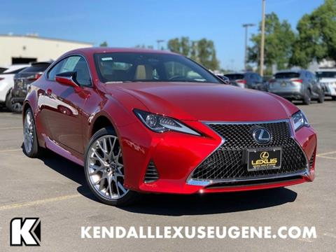 2019 Lexus RC 350 for sale in Eugene, OR