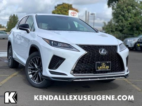 2020 Lexus RX 350 for sale in Eugene, OR