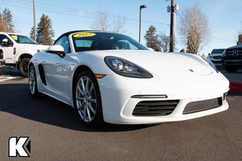 2017 Porsche 718 Boxster for sale in Bend, OR