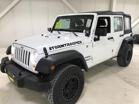 2016 Jeep Wrangler Unlimited for sale in Fairbanks, AK