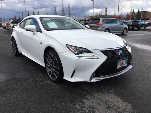 2016 Lexus RC 350 for sale in Anchorage, AK