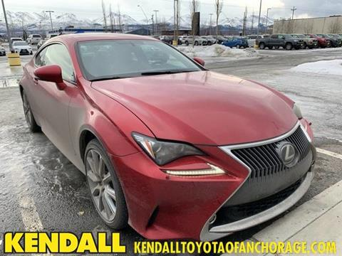 2015 Lexus RC 350 for sale in Anchorage, AK