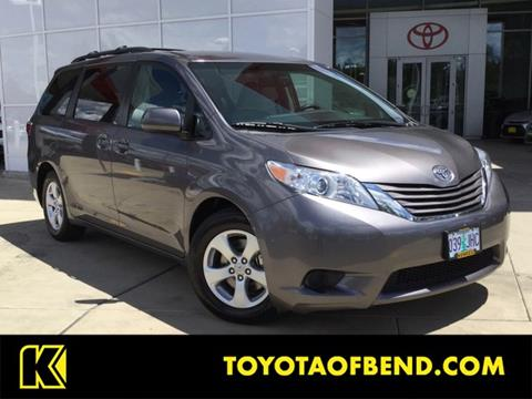 Used Toyota Sienna For Sale >> Used Toyota Sienna For Sale In Oregon Carsforsale Com