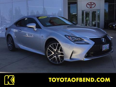 2015 Lexus RC 350 for sale in Bend, OR