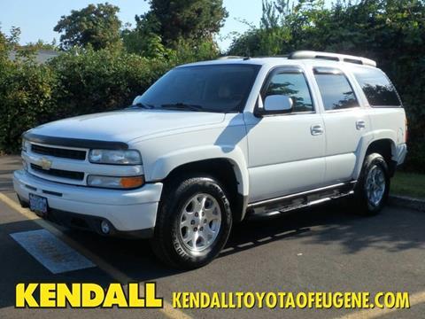 2004 Chevrolet Tahoe For Sale In Eugene Or