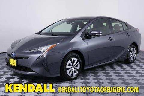 Electric Cars For Sale >> 2017 Toyota Prius For Sale In Eugene Or