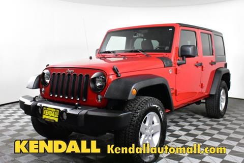 2014 Jeep Wrangler Unlimited for sale in Nampa, ID