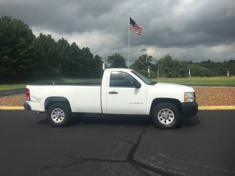 2012 Chevrolet Silverado 1500 for sale at DALE'S AUTO SALES LLC in Crossville TN