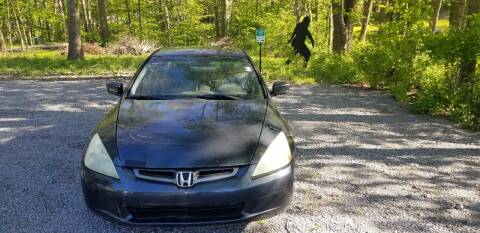 2003 Honda Accord LX for sale at Bedrock Discount Autos in Crawfordsville IN