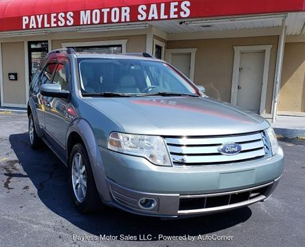 2008 Ford Taurus X for sale in Burlington, NC