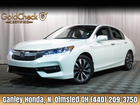 2017 Honda Accord Hybrid for sale in North Olmsted, OH