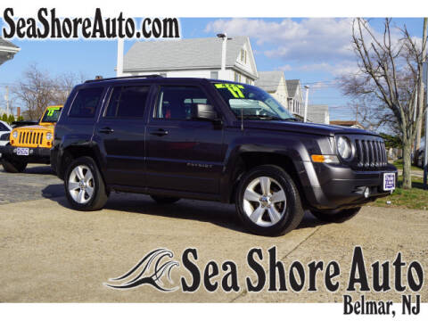 2017 Jeep Patriot Latitude for sale at Sea Shore Auto in Belmar NJ