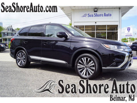 2019 Mitsubishi Outlander SE for sale at Sea Shore Auto in Belmar NJ