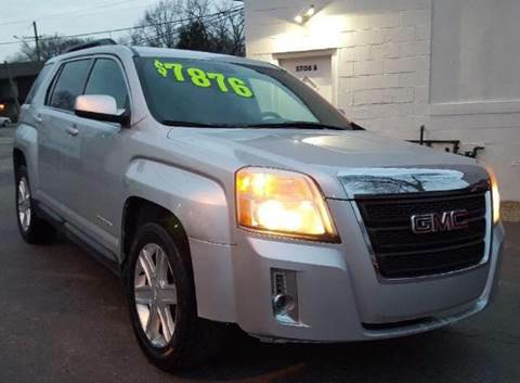 2011 GMC Terrain SLT-1 for sale at Revolution Auto Inc in McHenry IL