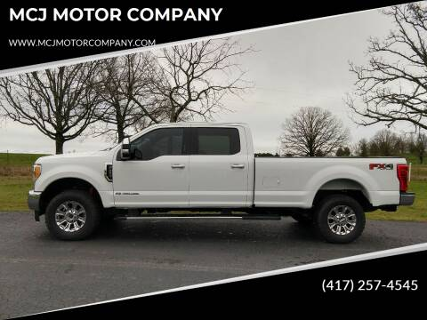 2017 Ford F-250 Super Duty XLT for sale at MCJ MOTOR COMPANY in West Plains MO