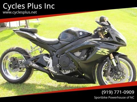 2007 Suzuki GSX-R600 for sale in Garner, NC