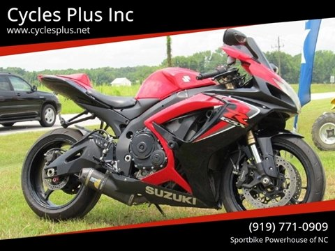 2006 Suzuki GSX-R600 for sale in Garner, NC