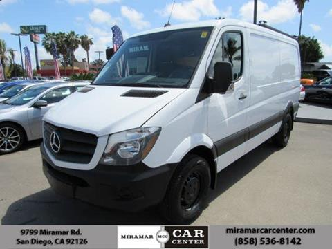 2017 Mercedes-Benz Sprinter Cargo for sale in San Diego, CA